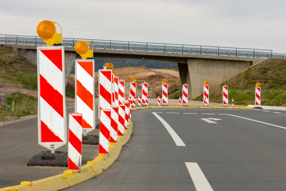 zabezpieczenie drogi