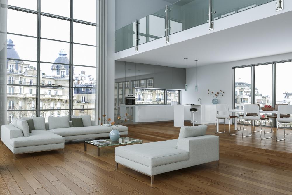 nowocześnie urządzone mieszkanie
